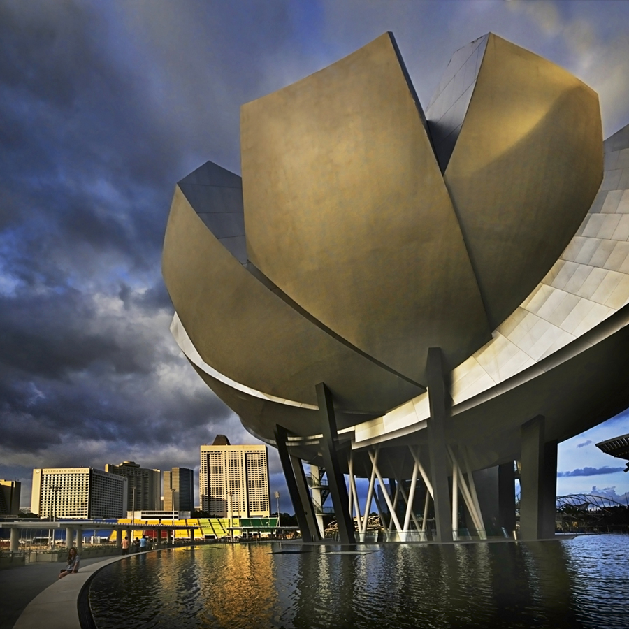 Singart singapore art museums and more for Marina bay sands architecture concept