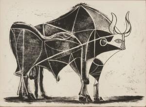 "Picasso's ""The Bull"". Photo credit: Succession Picasso 2013"