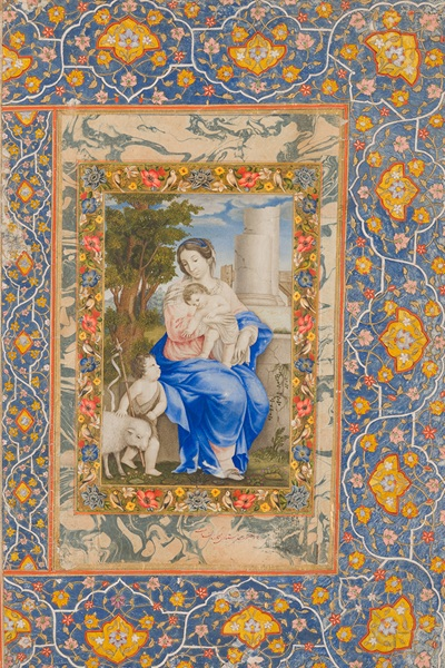 ACM_Christianity in Asia_Virgin and Child with St John Baptist